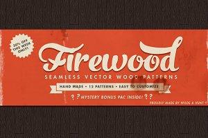 Vector Wood Patterns Vol 1
