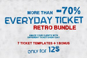 Everyday ticket RETRO BUNDLE