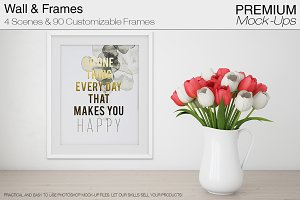 Spring Tulips & 90 Frames