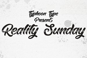 Reality Sunday font