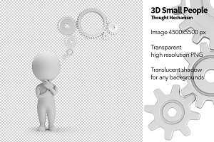 3D Small People - Thought Mechanism