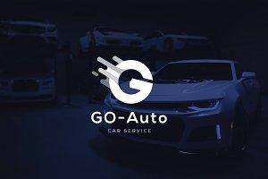Letter G - Car Service Logo