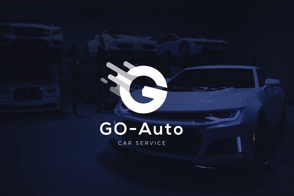 Letter G Car Service Logo