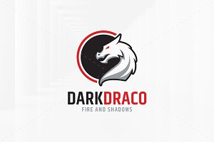 Dark Dragon Logo Template