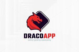 Dragon App Logo Template
