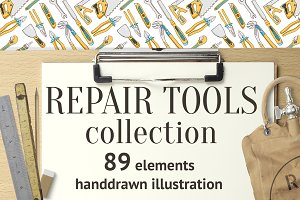 Repair tools collection