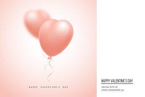 Valentine's day holiday background.