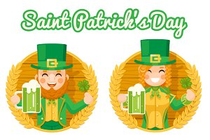 Leprechaun Cute Gnome Saint Patrick