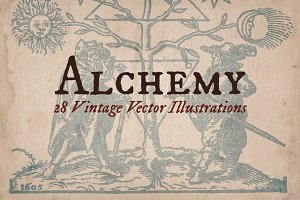 Vintage Alchemy Illustrations