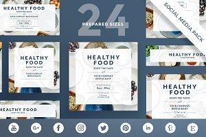 Social Media Pack | Healthy Food