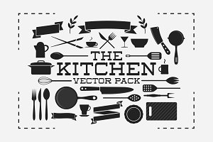 The Kitchen Vector Pack
