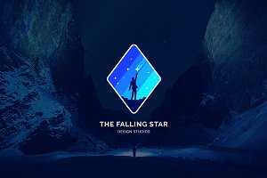Sky - The Falling Star Logo
