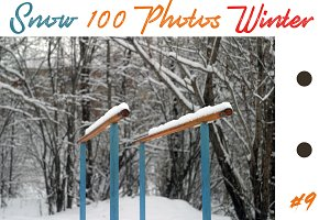 The best 100 photos of winter snow 9