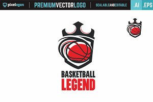 Basketball Legend Logo