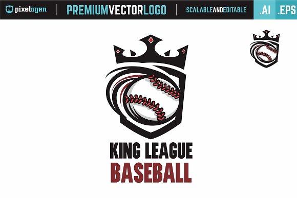 Baseball League Logo