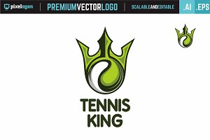 Tennis King Logo