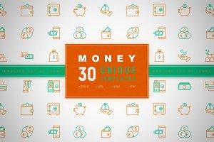 Money Icons Set | Concept