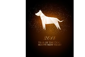 2018 year of the dog calendar.