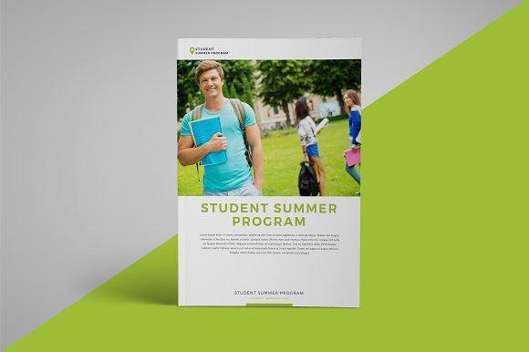 school program brochure brochure templates creative market