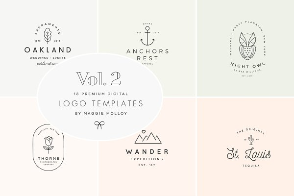 Feminine Digital Logo Bundle Vol.2