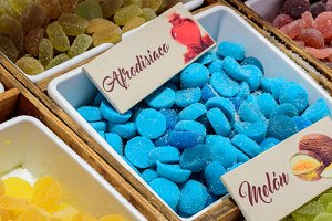 Candies with aphrodisiac effect