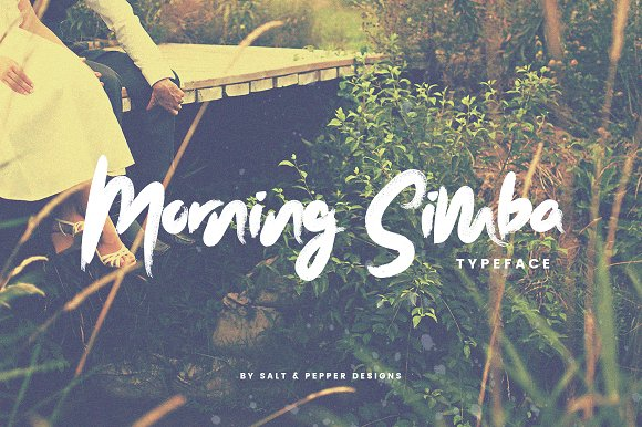 Morning Simba Font (ONLY $12)