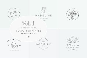 Feminine Digital Logo Bundle Vol.1