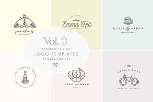 Feminine Digital Logo Bundle Vol.3