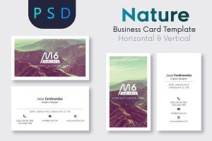 Nature Business Card Template- S37