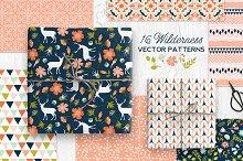 16 Wilderness Vector Patterns