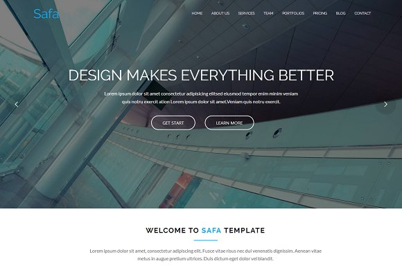 Safa Business WordPress Themes
