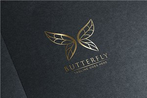 Luxury Butterfly - Logo Template
