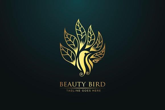 Beauty Bird Logo Template