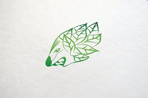 Animal Leaf - Logo Template