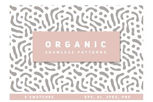 Organic Seamless Patterns Set