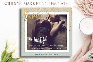Boudoir Marketing Template