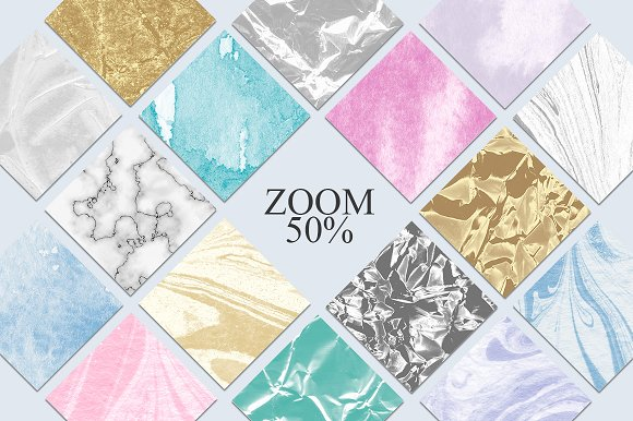 70 Watercolor, Gold, Marble Textures in Textures - product preview 3