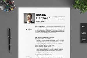 21 Timeless Resume CV Set No Icons