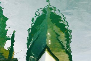 Boat Bow, Reflection