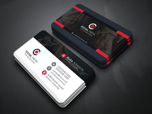 Gym Plus Business Card