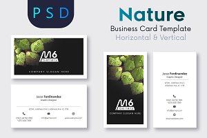 Nature Business Card Template- S36