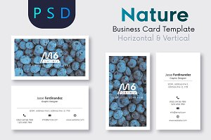 Nature Business Card Template- S38