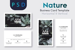 Nature Business Card Template- S39