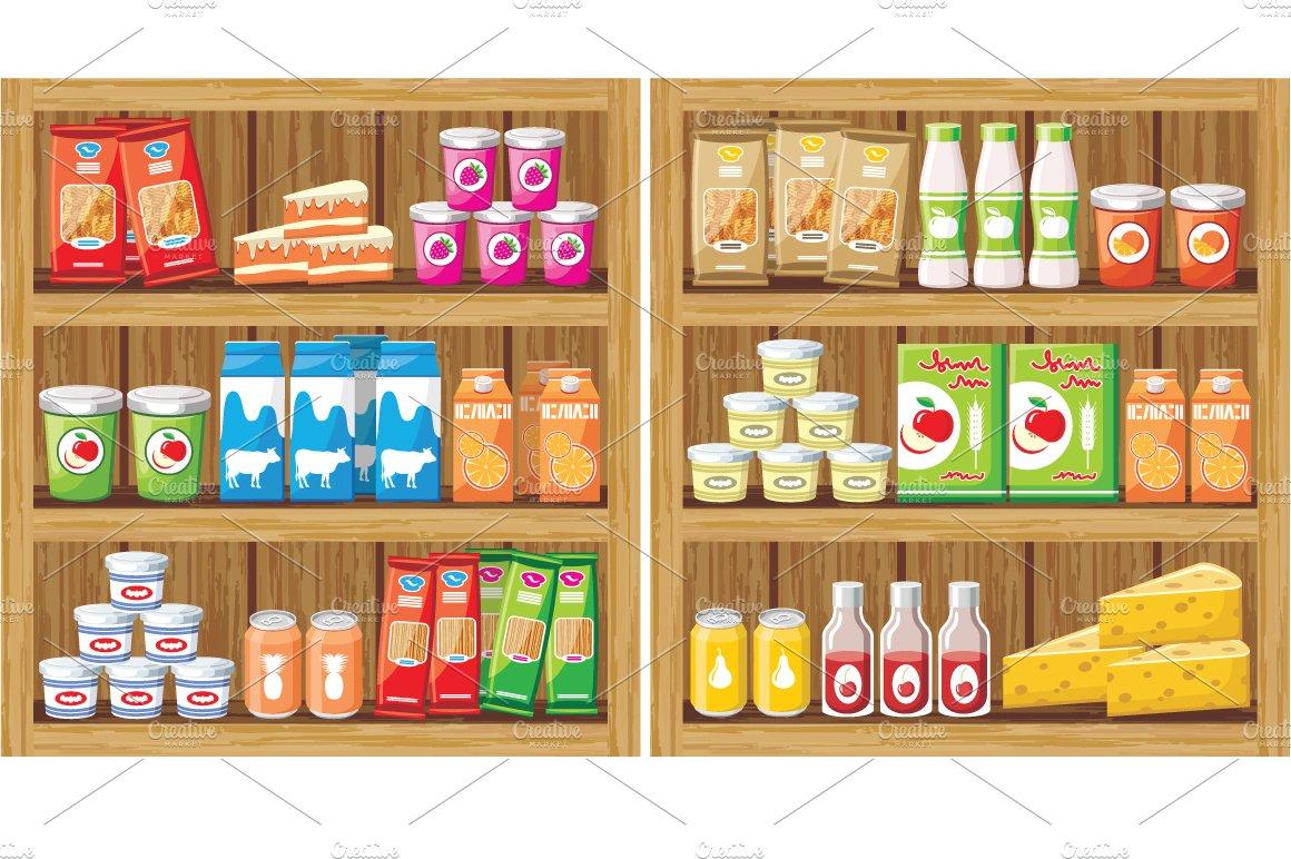 Gurza Illustration Vegetable Shop