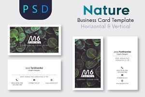 Nature Business Card Template- S40
