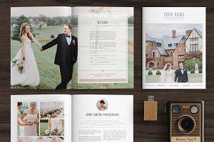 Wedding Magazine Template MG001