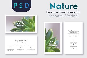 Nature Business Card Template- S41