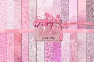 Baby Pink Digital Paper