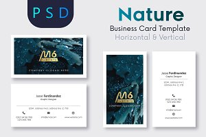 Nature Business Card Template- S43