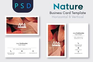 Nature Business Card Template- S44